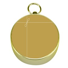Brown Paper Packages Gold Compasses
