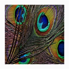 Peacock Feathers Medium Glasses Cloth (2 Side)