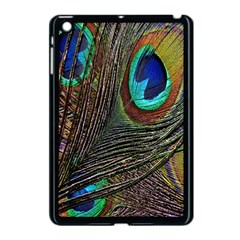 Peacock Feathers Apple Ipad Mini Case (black)