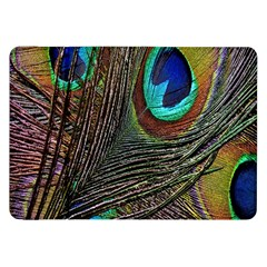 Peacock Feathers Samsung Galaxy Tab 8 9  P7300 Flip Case