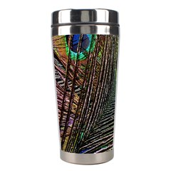 Peacock Feathers Stainless Steel Travel Tumblers