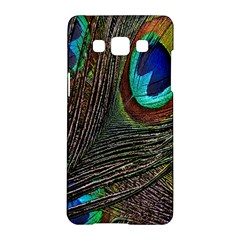 Peacock Feathers Samsung Galaxy A5 Hardshell Case