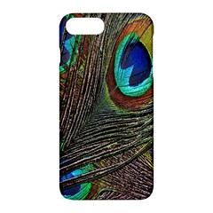 Peacock Feathers Apple Iphone 7 Plus Hardshell Case