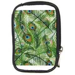 Peacock Feathers Pattern Compact Camera Cases