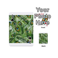 Peacock Feathers Pattern Playing Cards 54 (mini)