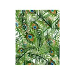 Peacock Feathers Pattern Shower Curtain 48  X 72  (small)  by Simbadda