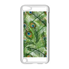 Peacock Feathers Pattern Apple Ipod Touch 5 Case (white)