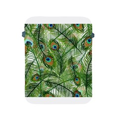 Peacock Feathers Pattern Apple Ipad 2/3/4 Protective Soft Cases by Simbadda