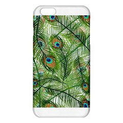 Peacock Feathers Pattern Iphone 6 Plus/6s Plus Tpu Case