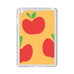 Apple Fruit Red Orange Ipad Mini 2 Enamel Coated Cases
