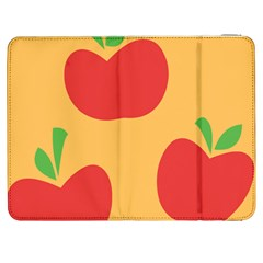 Apple Fruit Red Orange Samsung Galaxy Tab 7  P1000 Flip Case