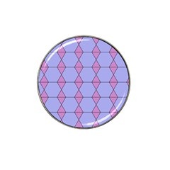 Demiregular Purple Line Triangle Hat Clip Ball Marker (10 Pack) by Alisyart
