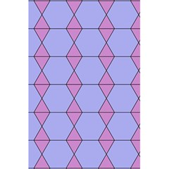 Demiregular Purple Line Triangle 5 5  X 8 5  Notebooks