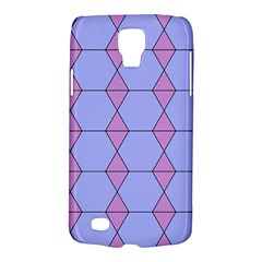 Demiregular Purple Line Triangle Galaxy S4 Active by Alisyart
