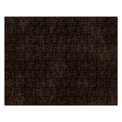 Bear Skin Animal Texture Brown Rectangular Jigsaw Puzzl