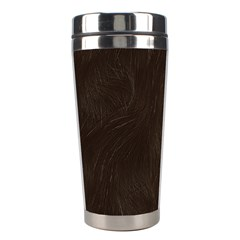 Bear Skin Animal Texture Brown Stainless Steel Travel Tumblers