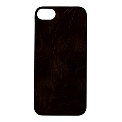 Bear Skin Animal Texture Brown Apple Iphone 5s/ Se Hardshell Case