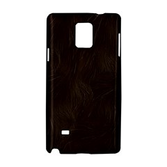 Bear Skin Animal Texture Brown Samsung Galaxy Note 4 Hardshell Case