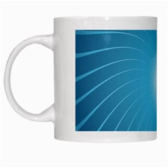 Dreams Sun Blue Wave White Mugs