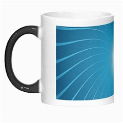 Dreams Sun Blue Wave Morph Mugs