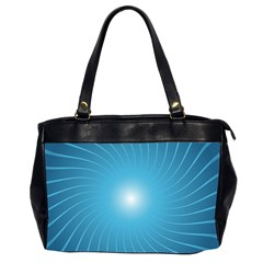 Dreams Sun Blue Wave Office Handbags (2 Sides)