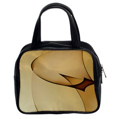 Edge Gold Wave Classic Handbags (2 Sides)