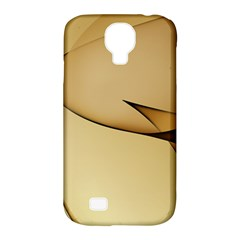 Edge Gold Wave Samsung Galaxy S4 Classic Hardshell Case (pc+silicone) by Alisyart