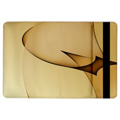 Edge Gold Wave Ipad Air 2 Flip by Alisyart