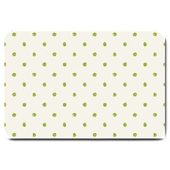Green Spot Jpeg Large Doormat