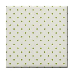Green Spot Jpeg Face Towel