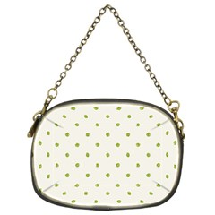 Green Spot Jpeg Chain Purses (two Sides)