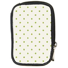 Green Spot Jpeg Compact Camera Cases by Alisyart