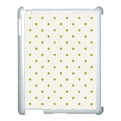 Green Spot Jpeg Apple Ipad 3/4 Case (white)