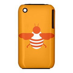Littlebutterfly Illustrations Bee Wasp Animals Orange Honny Iphone 3s/3gs by Alisyart