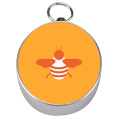Littlebutterfly Illustrations Bee Wasp Animals Orange Honny Silver Compasses