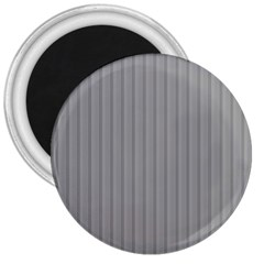 Metal Dark Grey 3  Magnets