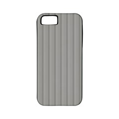 Metal Dark Grey Apple Iphone 5 Classic Hardshell Case (pc+silicone)
