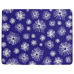 Aztec Lilac Love Lies Flower Blue Jigsaw Puzzle Photo Stand (rectangular)