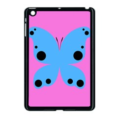 Pink Blue Butterfly Animals Fly Apple Ipad Mini Case (black)