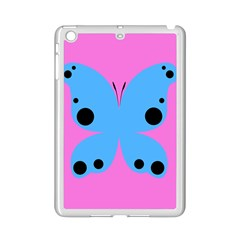 Pink Blue Butterfly Animals Fly Ipad Mini 2 Enamel Coated Cases
