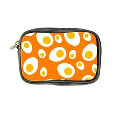 Orange Circle Egg Coin Purse
