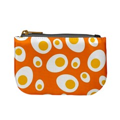 Orange Circle Egg Mini Coin Purses by Alisyart