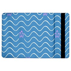 Springtime Wave Blue White Purple Floral Flower Ipad Air 2 Flip by Alisyart