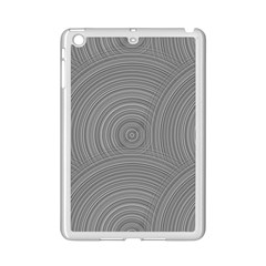 Circular Brushed Metal Bump Grey Ipad Mini 2 Enamel Coated Cases by Alisyart