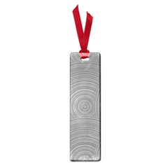 Circular Brushed Metal Bump Grey Small Book Marks