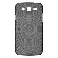 Circular Brushed Metal Bump Grey Samsung Galaxy Mega 5 8 I9152 Hardshell Case