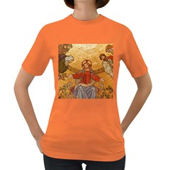 Gold Jesus Women s Dark T-shirt by boho
