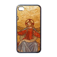 Gold Jesus Apple Iphone 4 Case (black) by boho