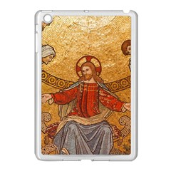 Gold Jesus Apple Ipad Mini Case (white) by boho