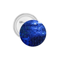 Blue Sequins 1 75  Buttons by boho